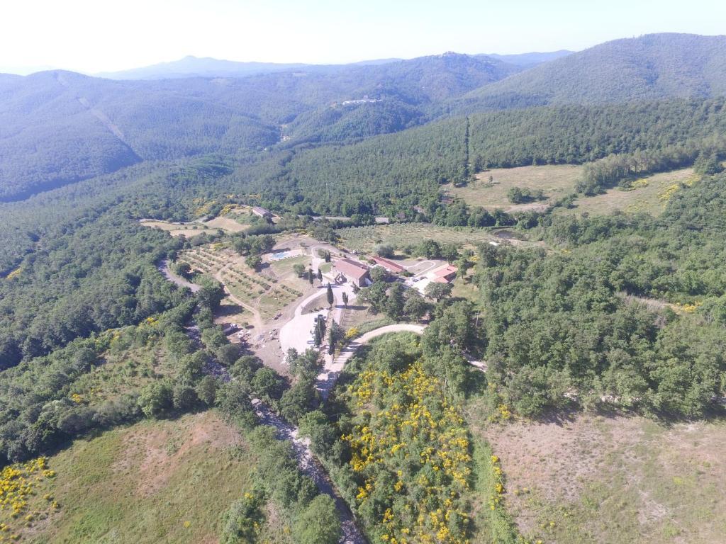 Vista aerea di La Meridiana Agritourismo