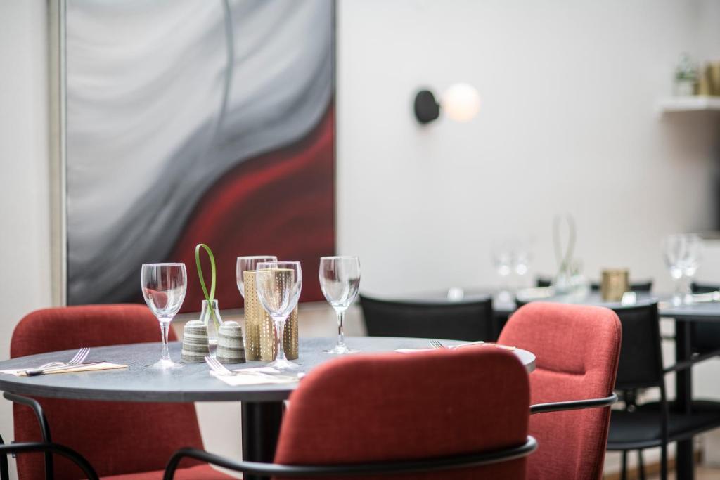 En restaurang eller annat matställe på Quality Hotel Prisma