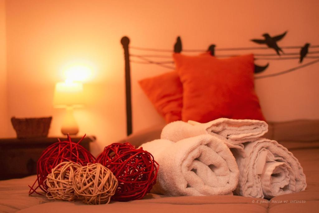 Cama ou camas em um quarto em Nomad