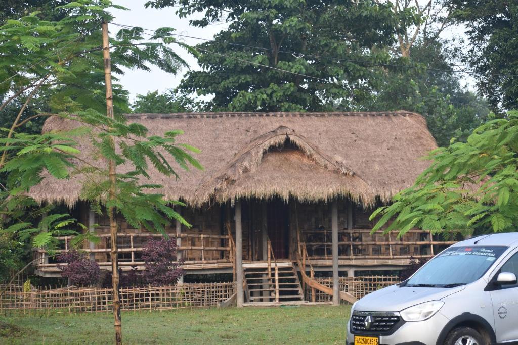 อาคารที่มีหมู่บ้านพักตากอากาศ