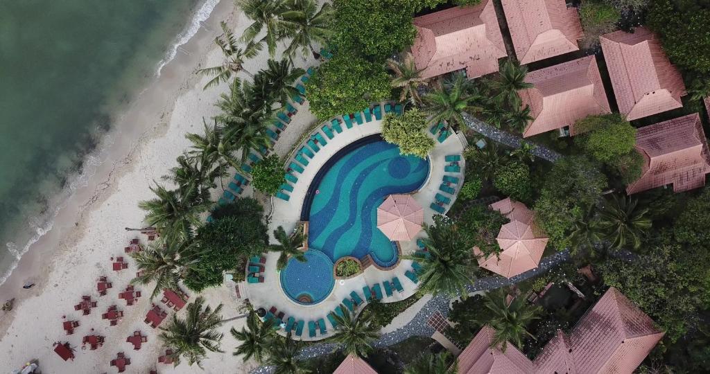 A bird's-eye view of Koh Chang Paradise Resort & Spa
