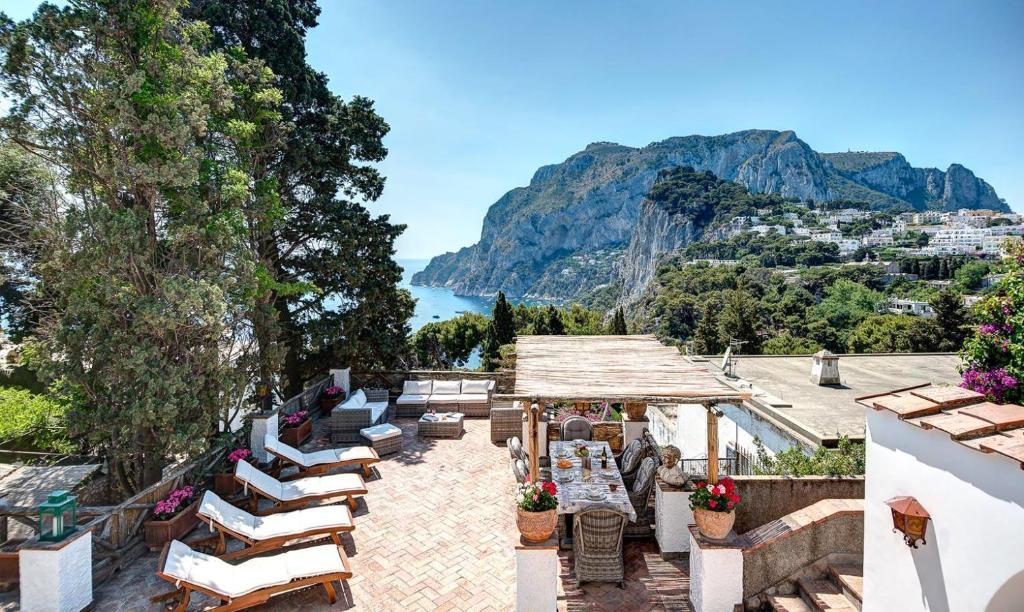 Villa Terrazza Tragara Capri Italy Booking Com