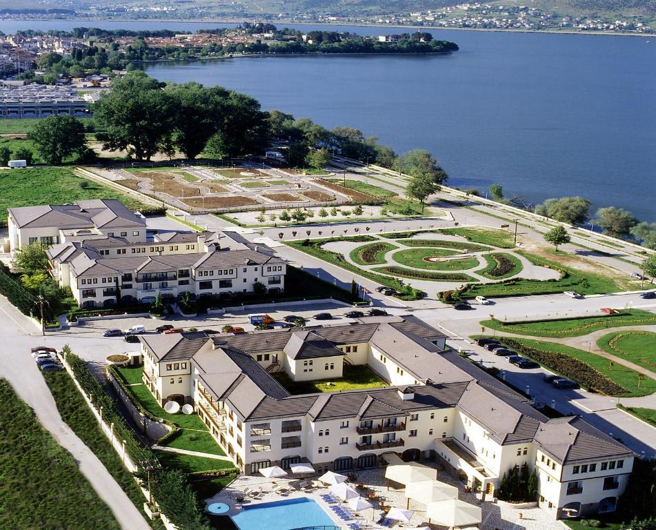 A bird's-eye view of Hotel Du Lac Congress Center & Spa