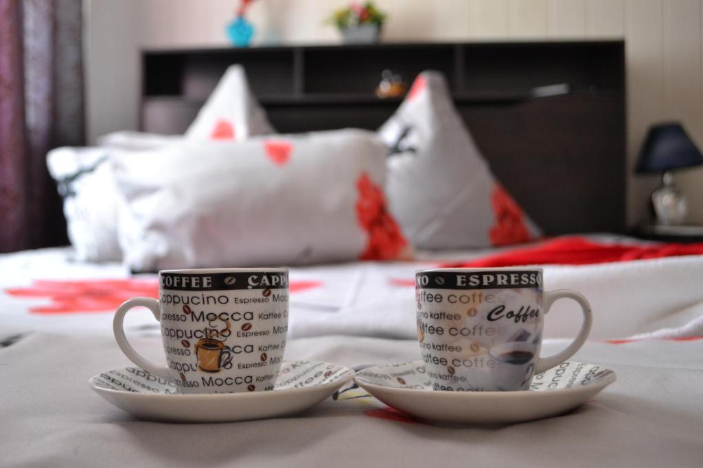 """Кровать или кровати в номере Гостиница """"Огонек"""""""
