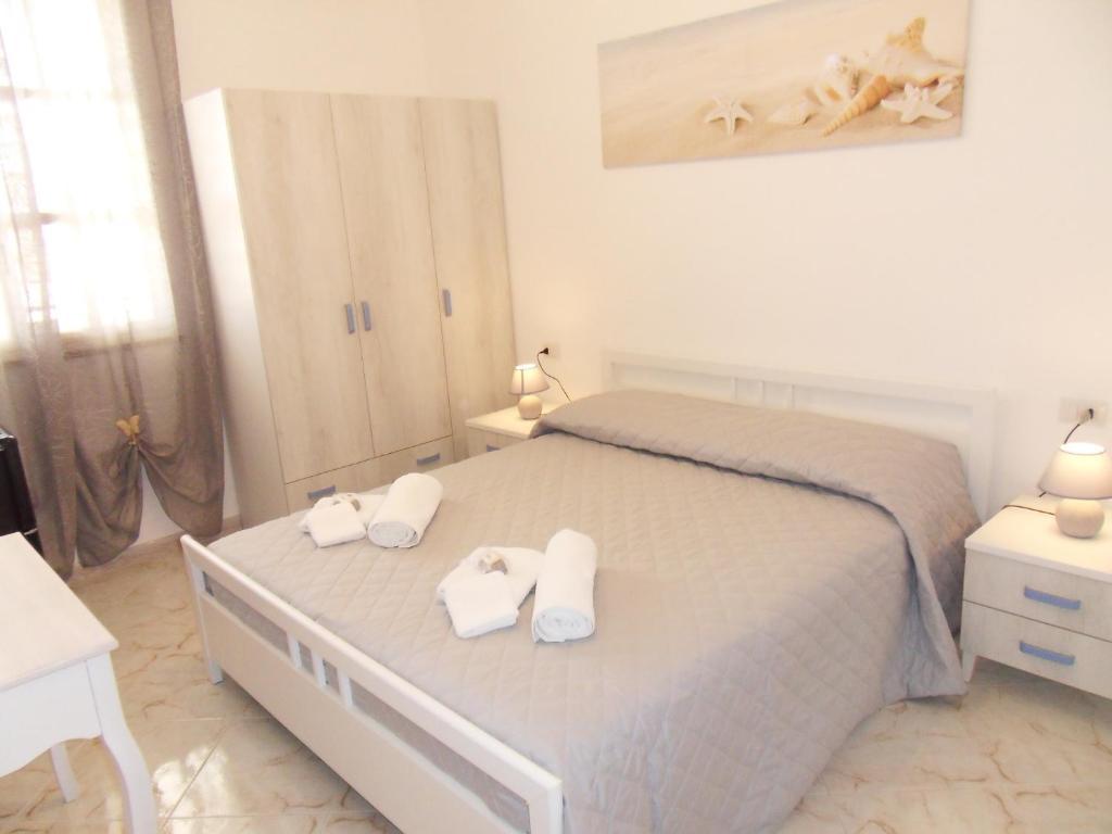 Postel nebo postele na pokoji v ubytování B&B Venere