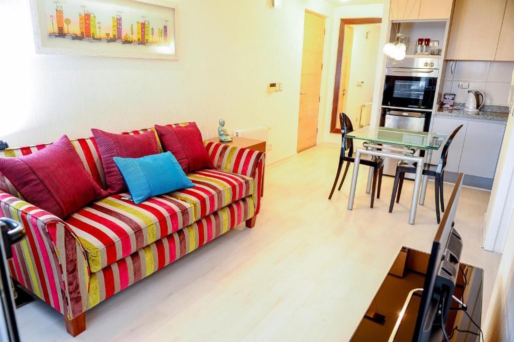 Zona de estar de Chilean Suites and Apartment