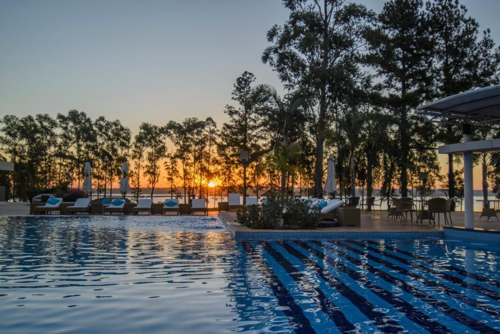 The swimming pool at or near Awa Resort Hotel