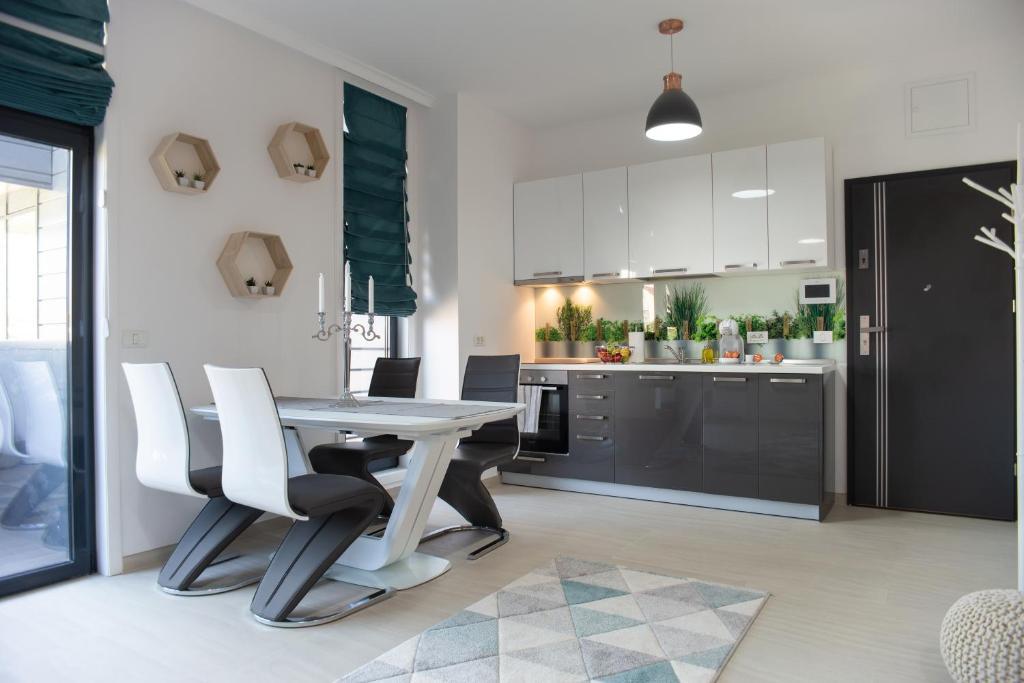 Cucina o angolo cottura di Steel Residence
