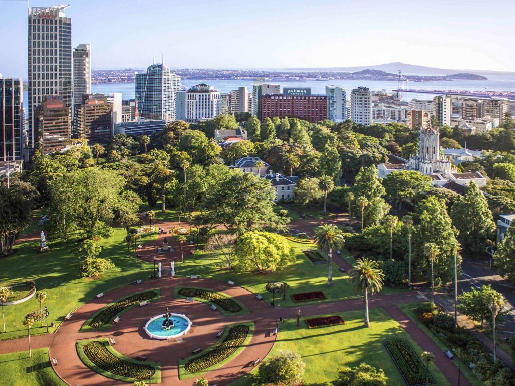 A bird's-eye view of Pullman Auckland