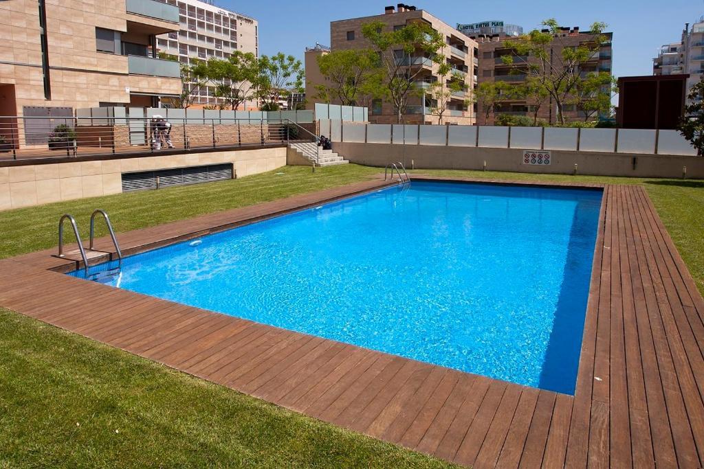The swimming pool at or near Apartamentos Can Saula