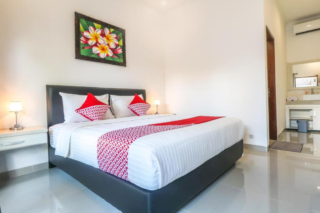 Krevet ili kreveti u jedinici u okviru objekta OYO 1051 De Loran Hotel