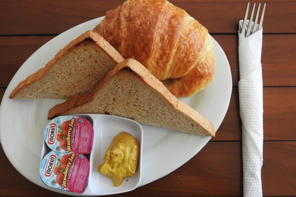 2 Serviettes en papier cuisine Petit déjeuner Thé Paper Napkins Tea and toast