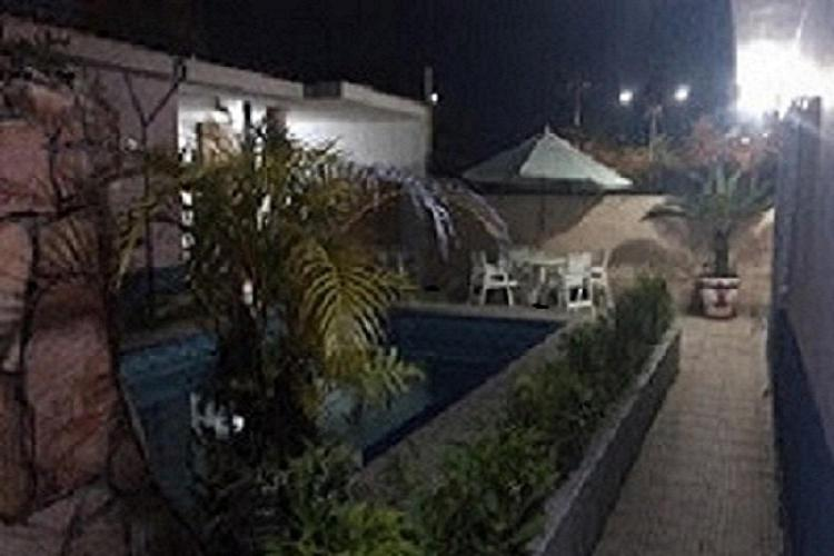 The swimming pool at or near Pousada Kairos