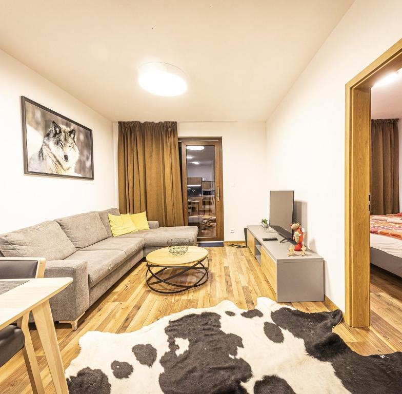Posedenie v ubytovaní Apartmánový dom Poludnica - Chopok Juh
