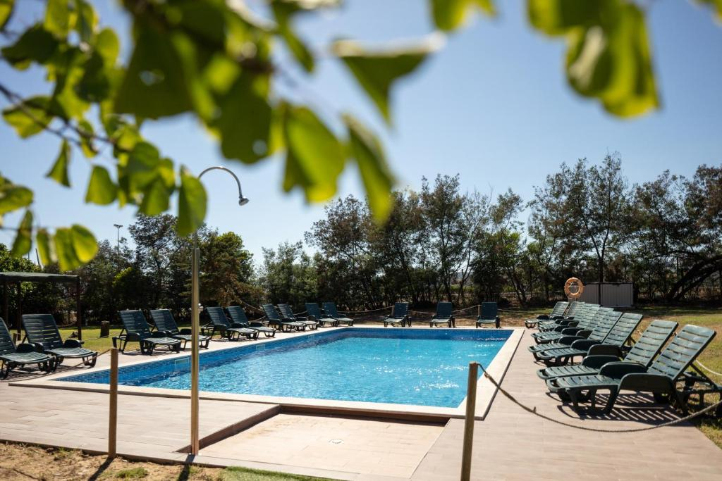 The swimming pool at or close to Campanile Lisboa Sud - Setubal