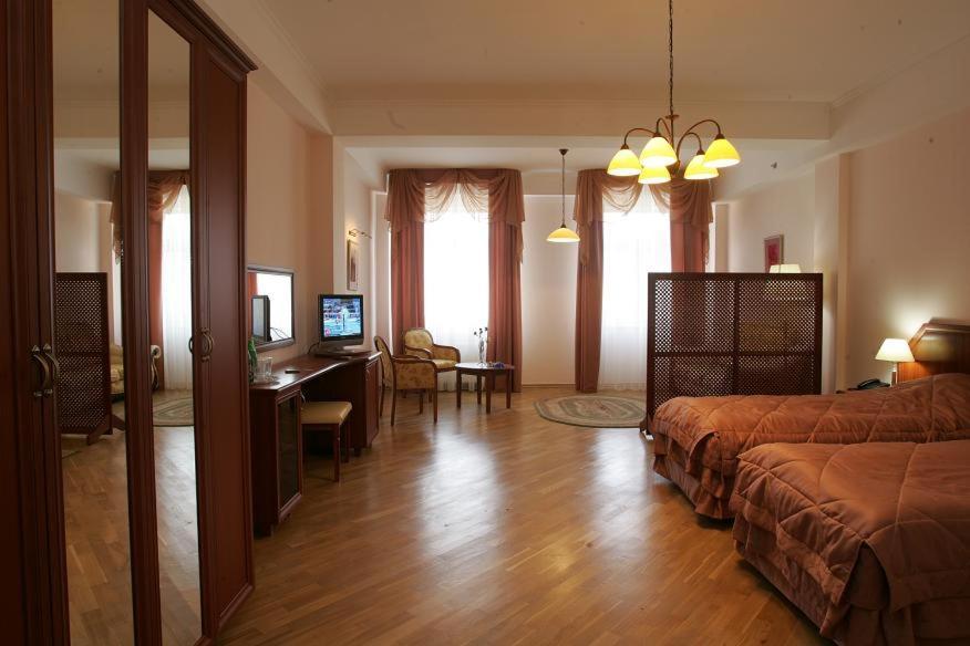 Гостиная зона в Спа Отель Беларусь