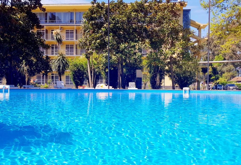 The swimming pool at or near Wellness Park Hotel Gagra All-Inclusive
