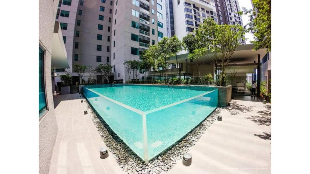 The swimming pool at or near Summer Stay Hostel (near KLCC)