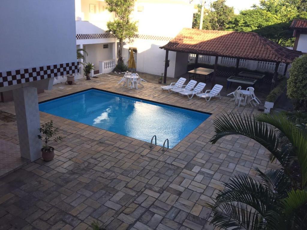 A piscina localizada em Pousada Do Canal ou nos arredores