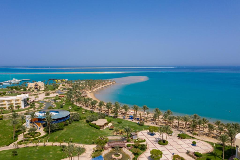 A bird's-eye view of Sentido Palm Royale Soma Bay