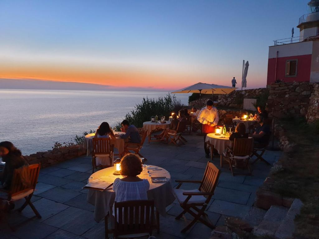 A restaurant or other place to eat at Resort Faro di Punta Fenaio