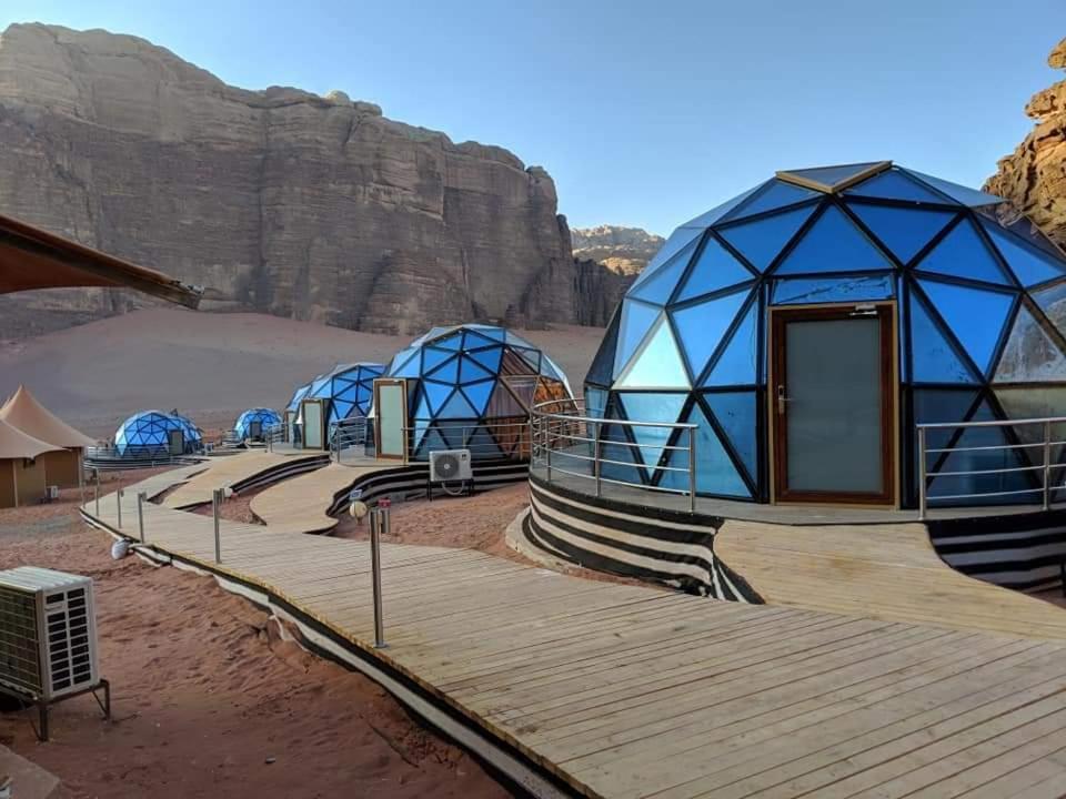L'établissement Memories Aicha Luxury Camp en hiver