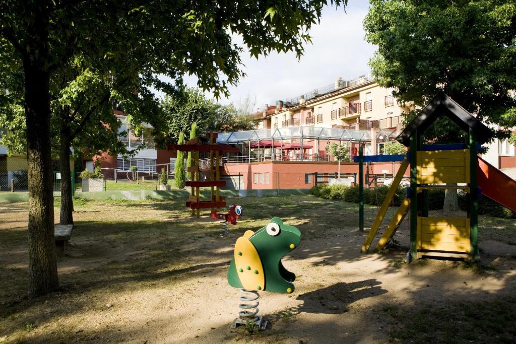 Children's play area at Hotel La Perla D'Olot