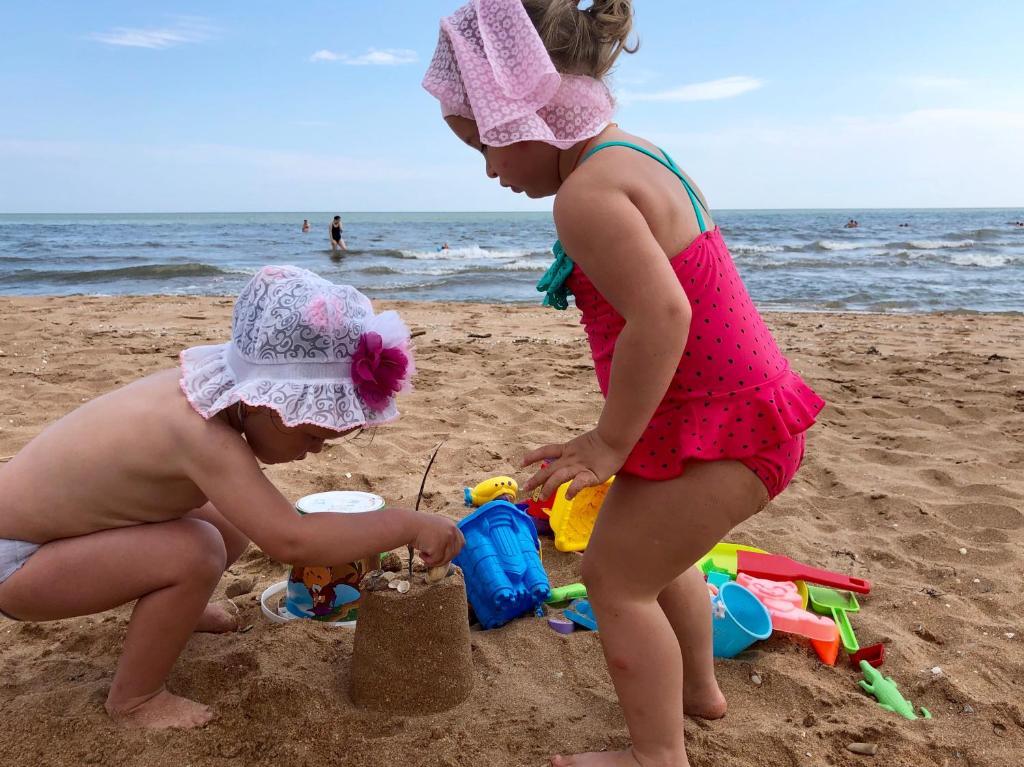 Children staying at Azovskaya Rivera