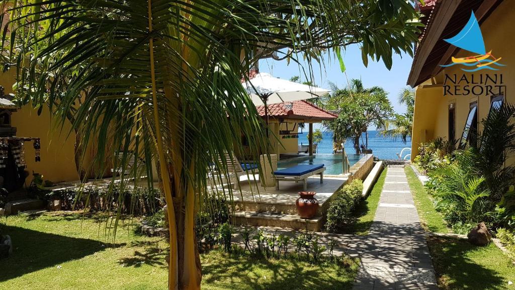 Jardin de l'établissement Nalini Resort