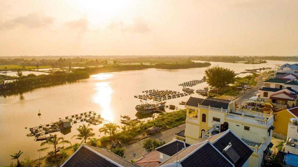 A bird's-eye view of Hoi An Estuary Villa