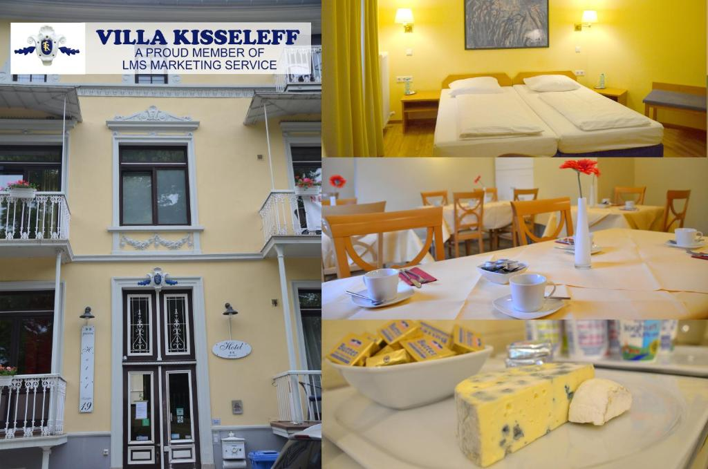 A restaurant or other place to eat at Hotel Villa Kisseleff