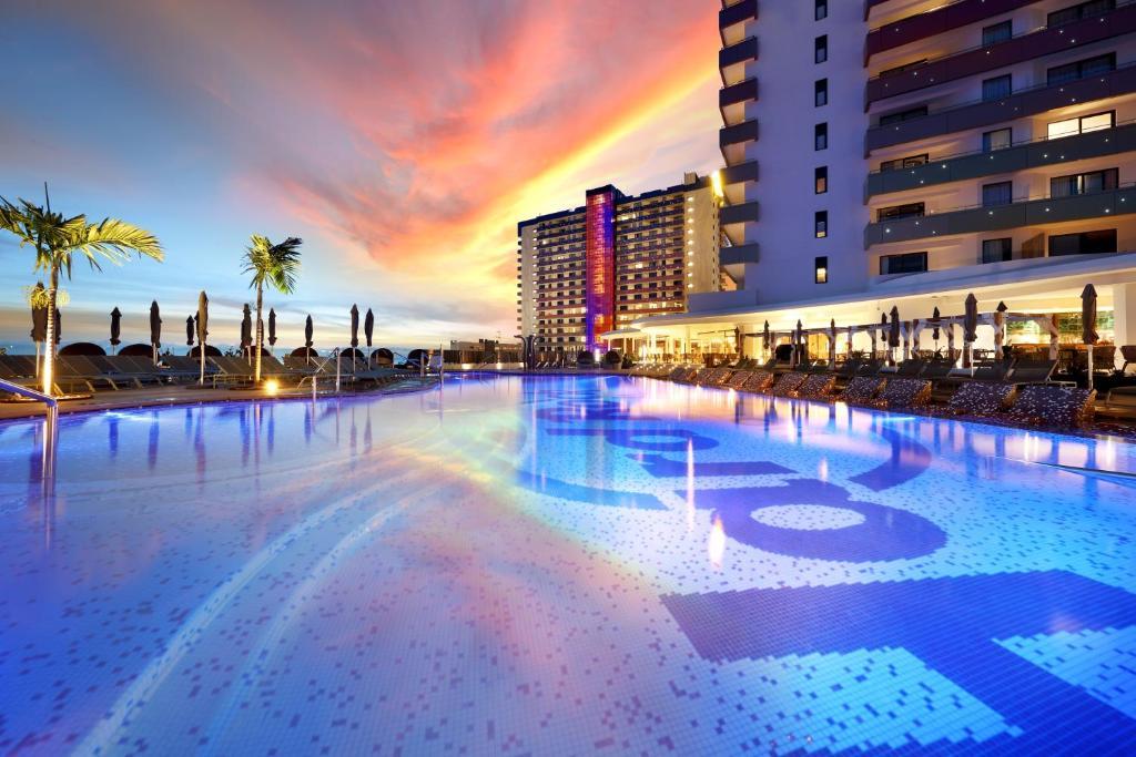 The swimming pool at or near Hard Rock Hotel Tenerife