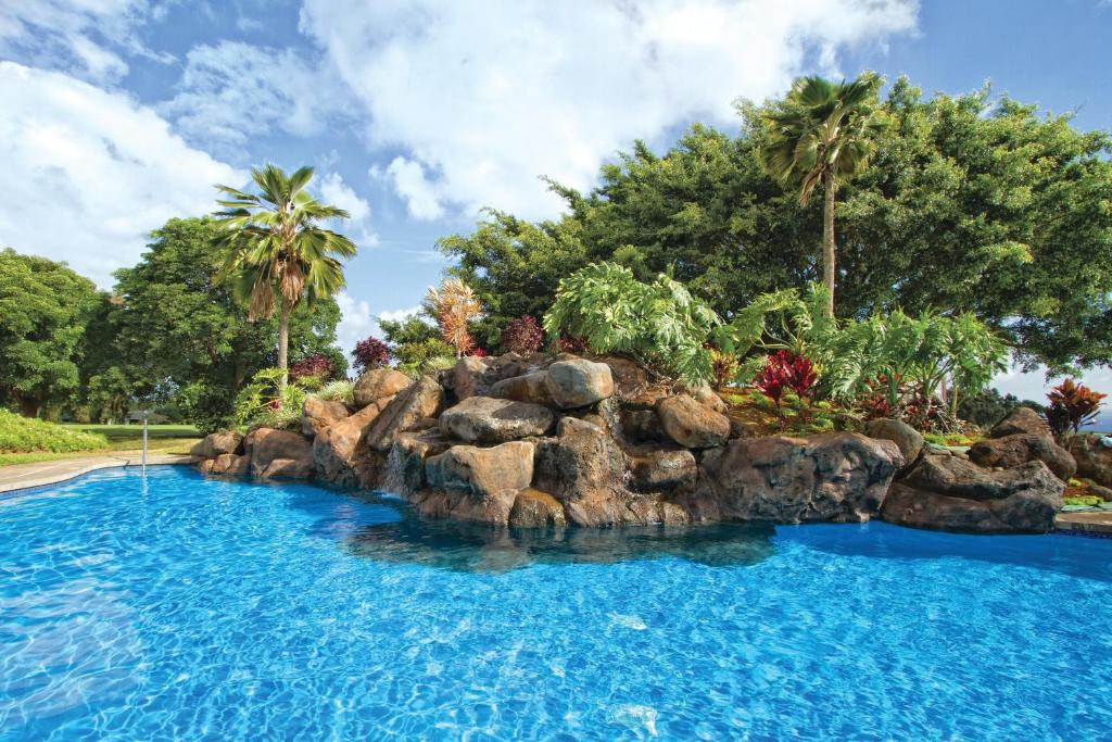 The swimming pool at or near Wyndham Ka 'Eo Kai