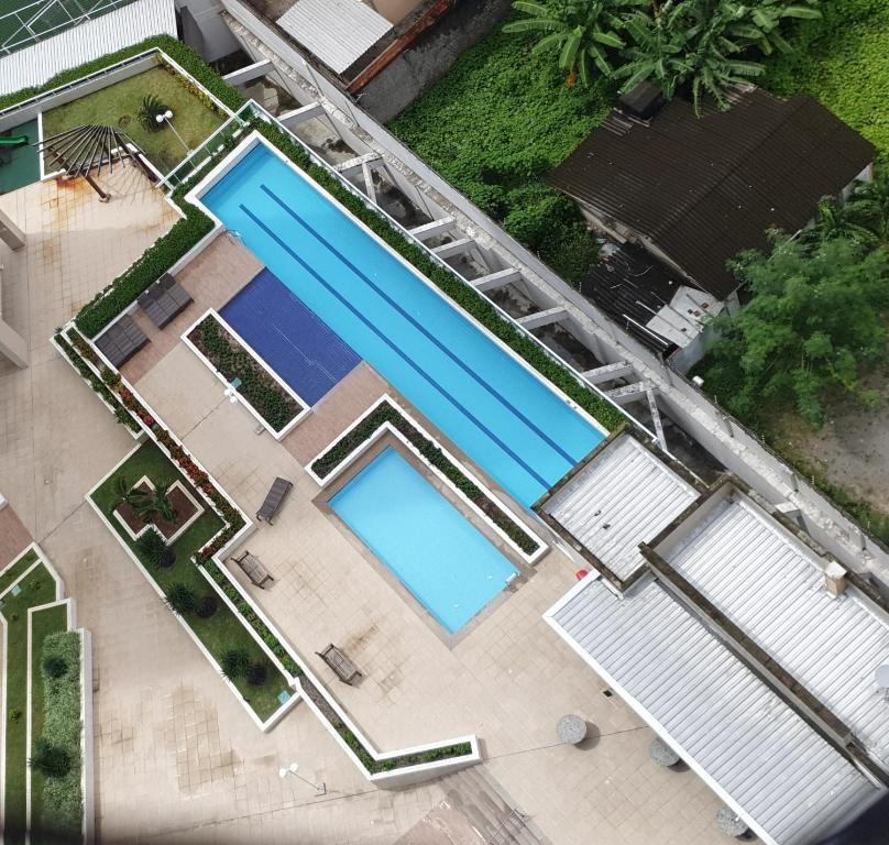 A view of the pool at FORTALEZA APTO INTEIRO 6 HOSPEDES or nearby