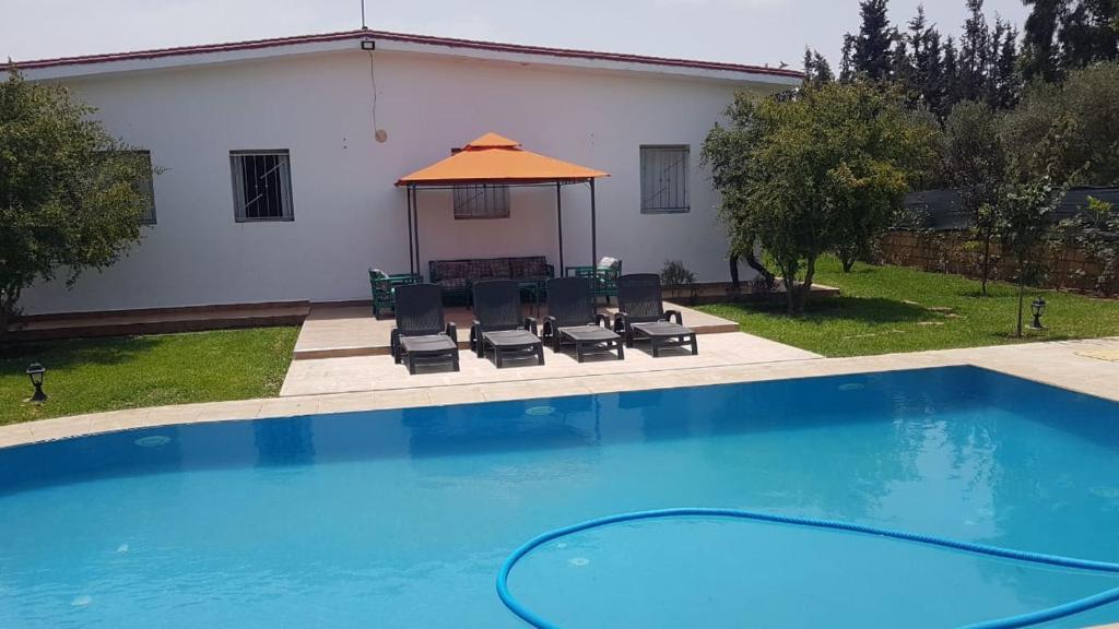 Villa Maison De Campagne Avec Piscine Ben Slimane Morocco