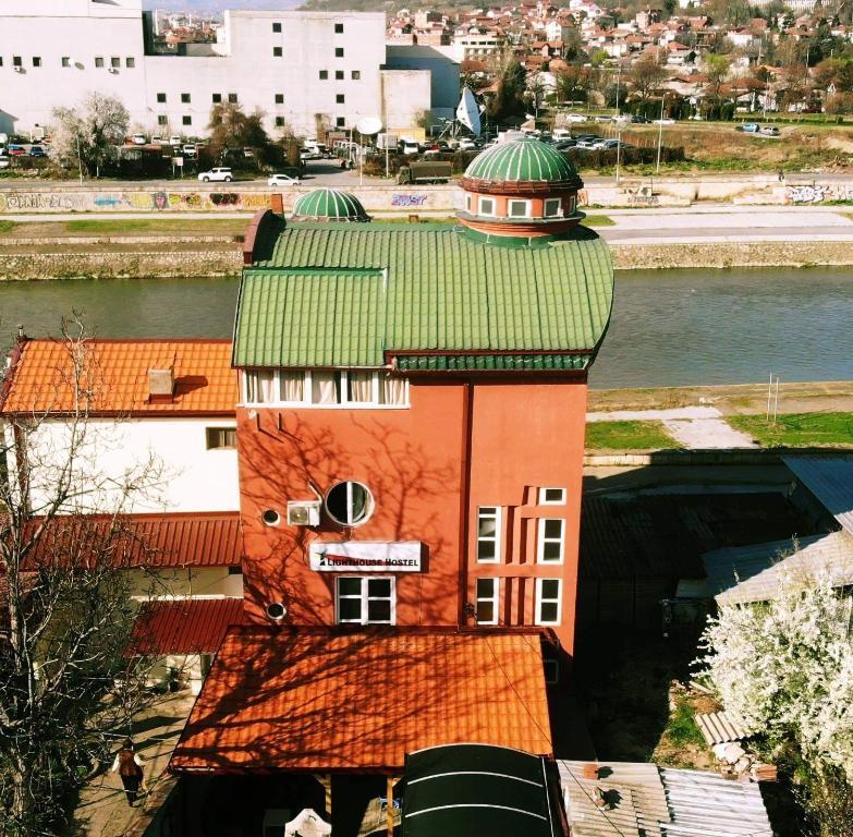 A bird's-eye view of Lighthouse Hostel