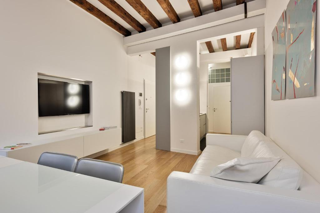 A seating area at Venice Home Holidays