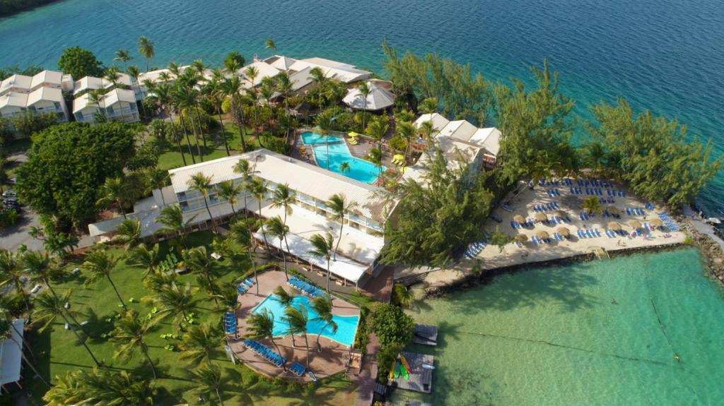 Blick auf Carayou Hotel and Spa aus der Vogelperspektive