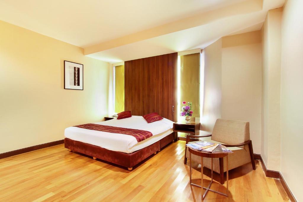 Bally Suite Silomにあるベッド
