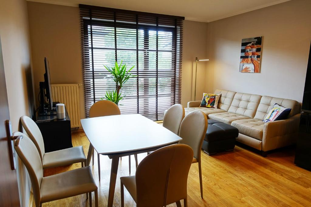 Posezení v ubytování Apartament X