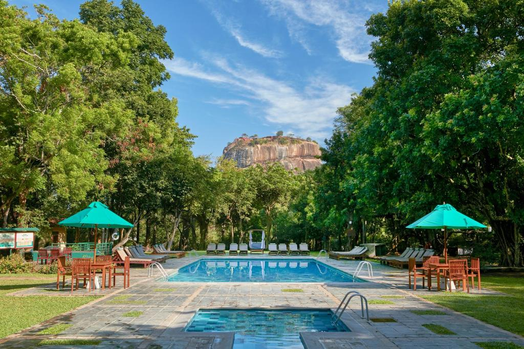 The swimming pool at or near Hotel Sigiriya