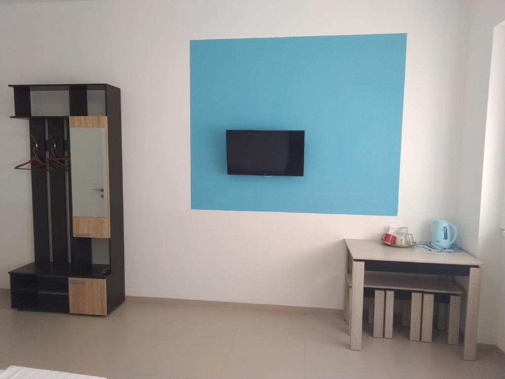A television and/or entertainment center at Goodnight House