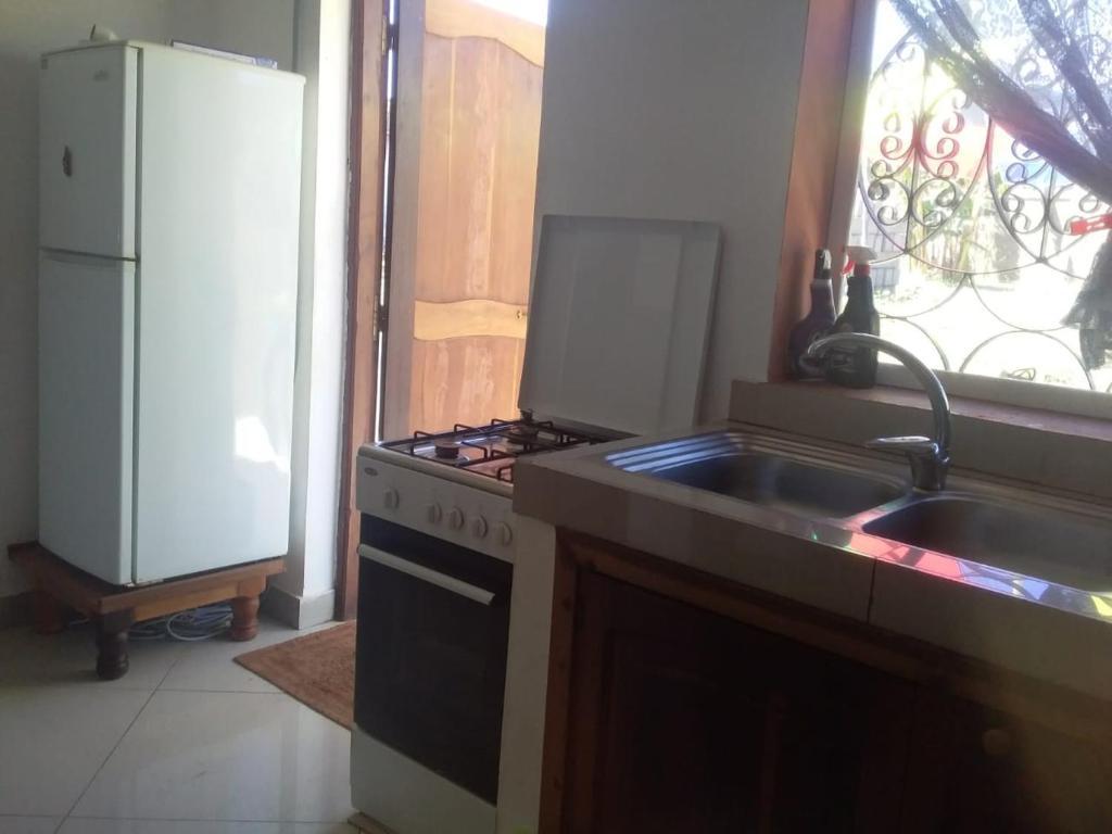 Ett kök eller pentry på Olivine