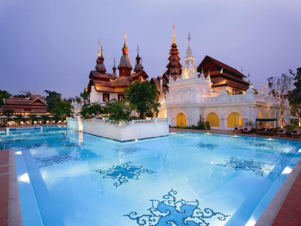 The swimming pool at or near The Dhara Dhevi Chiang Mai
