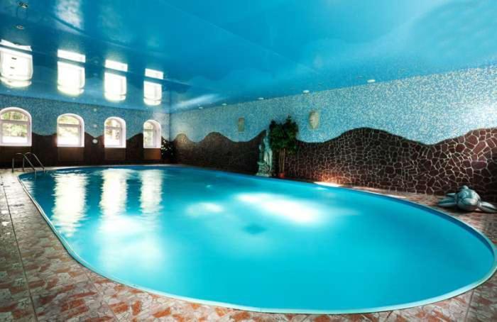 The swimming pool at or near Art Hotel Pushkino