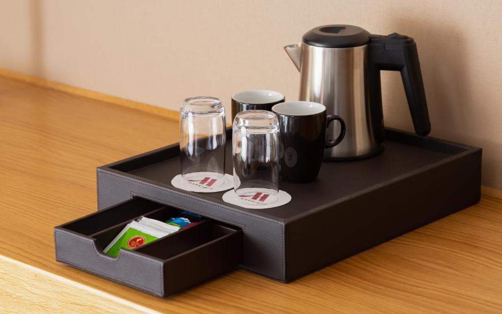 Принадлежности для чая и кофе в Voronezh Marriott