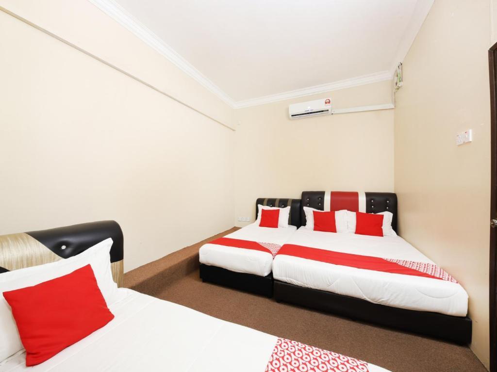 Katil atau katil-katil dalam bilik di OYO 505 Bin Hashim