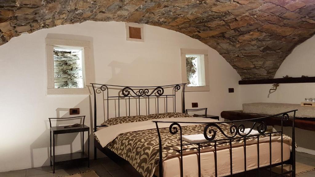 Krevet ili kreveti u jedinici u okviru objekta Wine cellar room