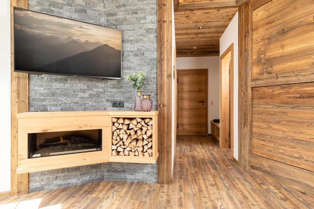 TV/Unterhaltungsangebot in der Unterkunft Apartment Bergjuwel