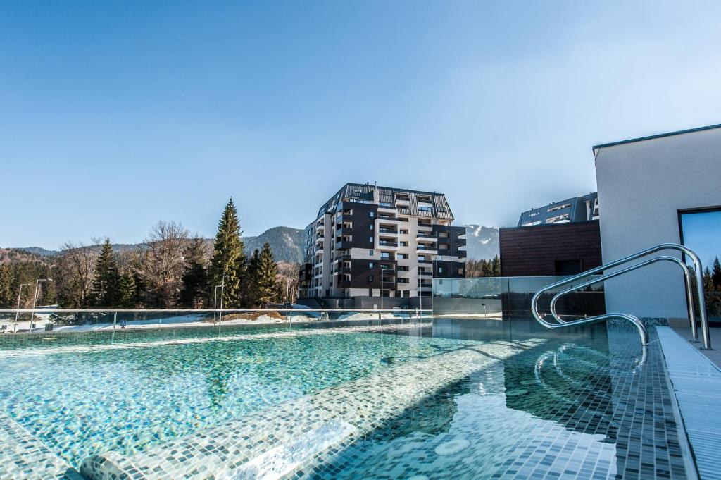 Baseinas apgyvendinimo įstaigoje Silver Mountain Resort & Spa arba netoliese